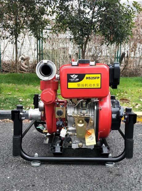 65mm全自动手抬式柴油机动泵