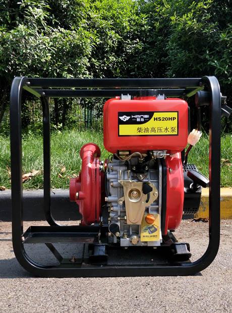 铸铁2寸柴油高扬程柴油水泵