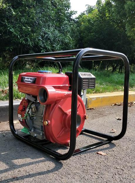 便携式翰丝2寸汽油铸铁高压泵