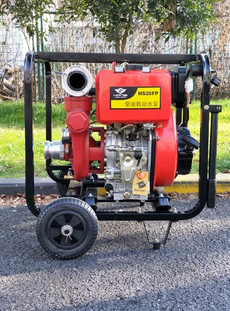 2.5寸全自動柴油機動泵