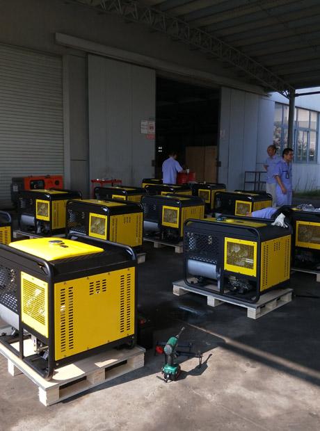 移动式300A柴油发电电焊一体机