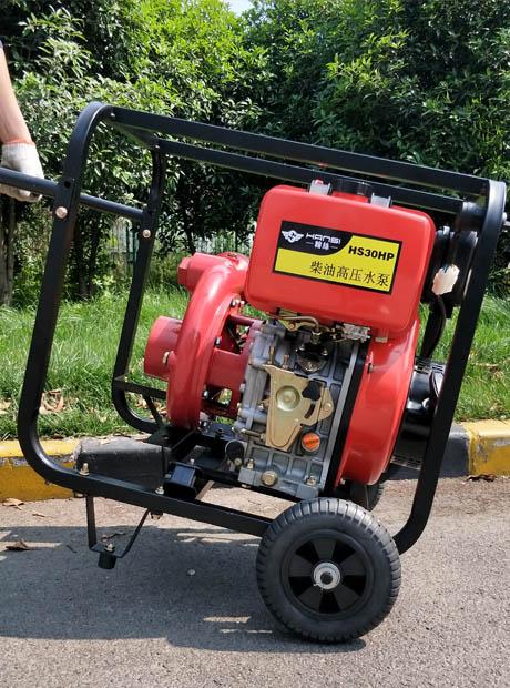 3寸高壓柴油機水泵鑄鐵高揚程泵