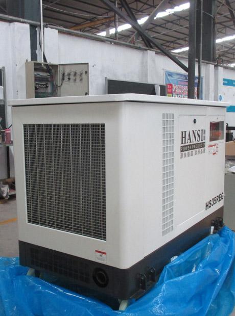 35千瓦静音多燃料汽油发电机组