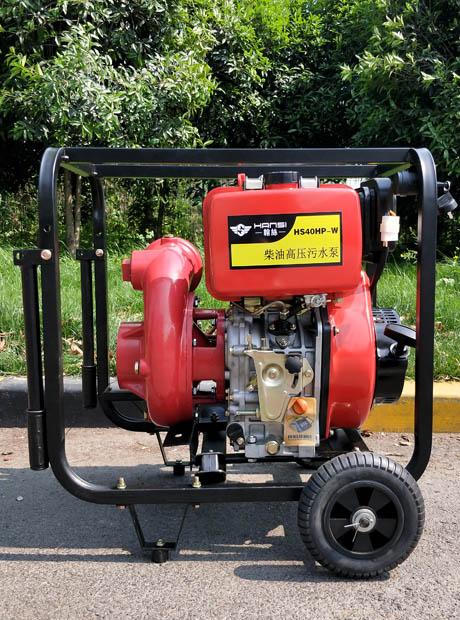 高压柴油污水泵大流量高扬程