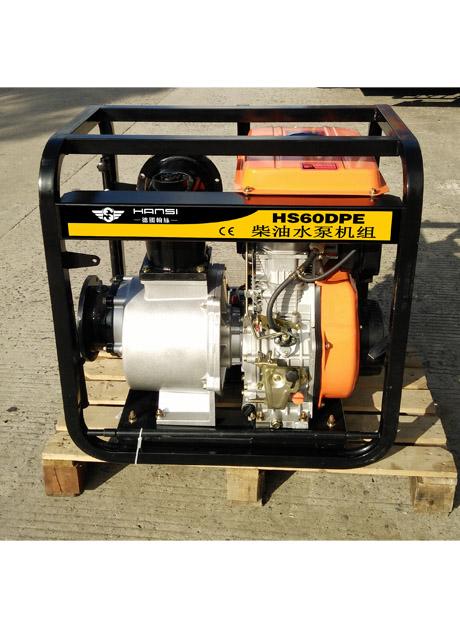 6寸柴油水泵机组HS60DPE