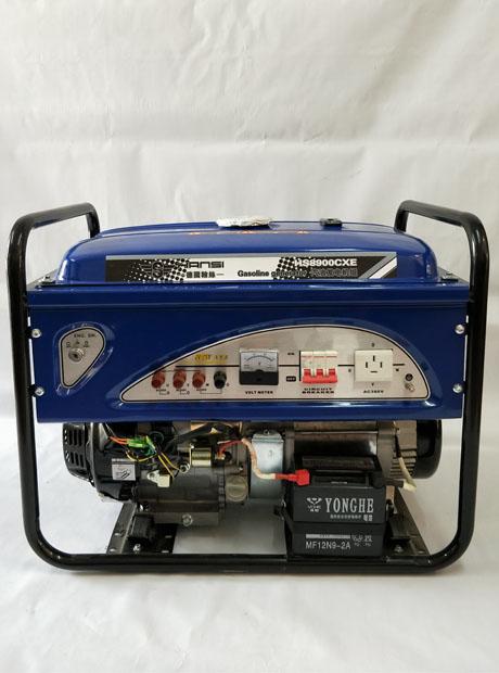 电启动8KW永磁汽油发电机组