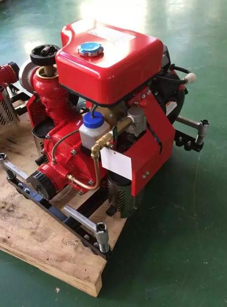 手抬式消防泵原装本田动力单出口款